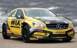 Mercedes-Benz returns to BTCC racing with new car