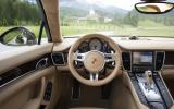 Porsche Panamera S dashboard