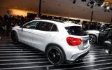 Frankfurt motor show 2013: Mercedes-Benz GLA