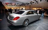 Frankfurt motor show 2013: Mercedes S63 AMG