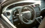 Honda Civic Type-R prototype dashboard