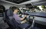 Driving the Range Rover LWB