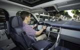 Driving the Range Rover LWB