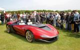 Pininfarina Sergio makes UK premiere