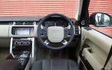Range Rover L Autobiography TDV8 dashboard