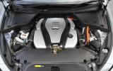 3.5-litre V6 Infiniti Q50S Hybrid engine