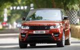 Goodwood Festival of Speed 2013: Range Rover Sport UK moving debut