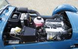 Three-cylinder Caterham 160 engine
