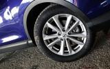 17in Nissan Qashqai alloy wheels