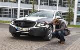 New Mercedes C-class - first ride