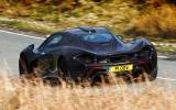 McLaren P1 rear