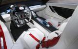 ItalDesign Giugiaro Parcour 4x4 dashboard
