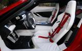 ItalDesign Giugiaro Parcour front seats