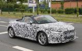 New Audi TT Roadster on course for Paris motor show launch