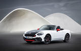 4 star Abarth 124 Spider