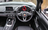 Abarth 124 Spider dashboard