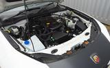 Abarth 124 Spider engine bay