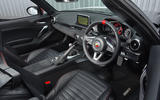 Abarth 124 Spider front seats