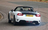Abarth 124 Spider rear cornering
