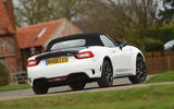 Abarth 124 Spider rear
