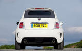 Abarth 595 rear end