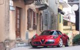 Alfa Romeo 4C weighs in at 895kg