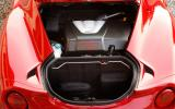 Small boot in the Alfa 4C
