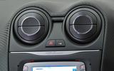Alfa Romeo Mito air vents