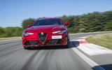 Alfa Romeo Giulia Quadrifoglio front