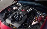 2.9-litre V6 Alfa Giulia engine