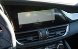 8in Alfa Giulia infotainment system