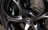 Alfa Romeo Giulia black alloys