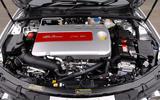 Alfa Romeo 159 engine bay