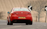 Alfa Romeo 159 rear cornering