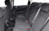 Alfa Romeo 159 rear seats