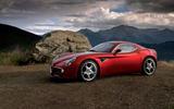 3.5 star Alfa Romeo 8C