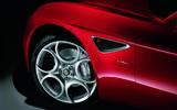Alfa Romeo 8C alloy wheels