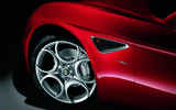 Alfa Romeo 8C alloy wheels