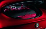 Alfa Romeo 8C boot space