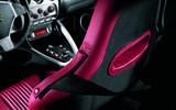 Alfa Romeo 8C bucket seats