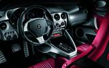 Alfa Romeo 8C dashboard