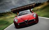 Alfa Romeo 8C front end