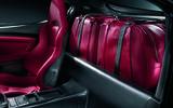 Alfa Romeo 8C rear luggage space