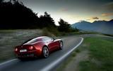 Alfa Romeo 8C rear cornering