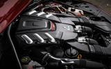 2.9-litre V6 Alfa Romeo Giulia Quadrifoglio engine