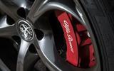 Alfa Romeo Giulia Quadrifoglio brake calipers