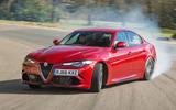 Alfa Romeo Giulia Quadrifoglio drifting