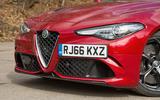 Alfa Romeo Giulia Quadrifoglio front grille
