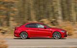 Alfa Romeo Giulia Quadrifoglio side profile