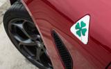 Alfa Romeo Giulia Quadrifoglio brake vents